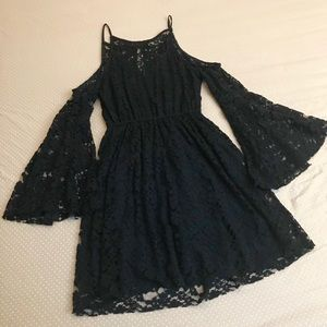 Abercrombie & Fitch Lace Skater Dress